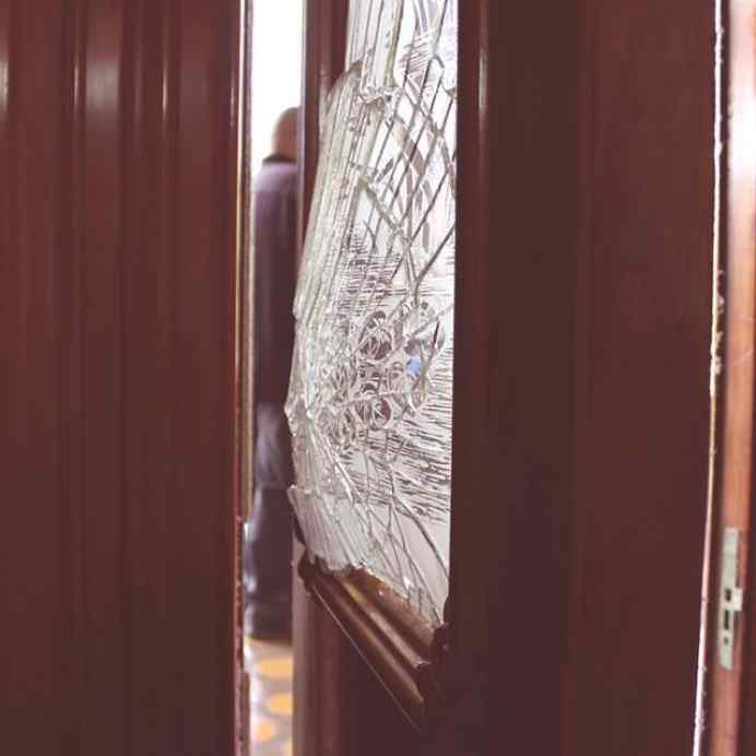 Safety security films tt tinting specialists inc our llumar security films when protecting against forced entry burglary this door is located at the iolani palace in downtown honolulu the glass was planetlyrics Image collections